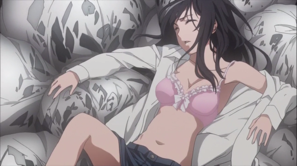 Can't even go four minutes into the episode with some form of fanservice, huh.